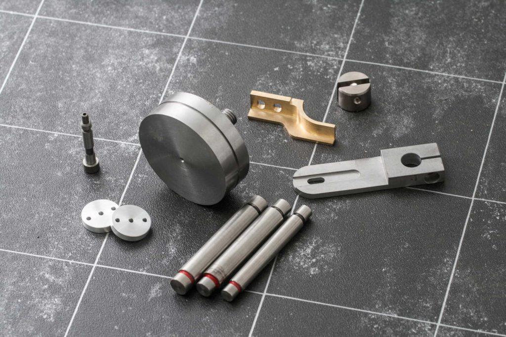 Produktion aus Werkzeugstahl, Einsatzstahl und Nichteisenmetallen